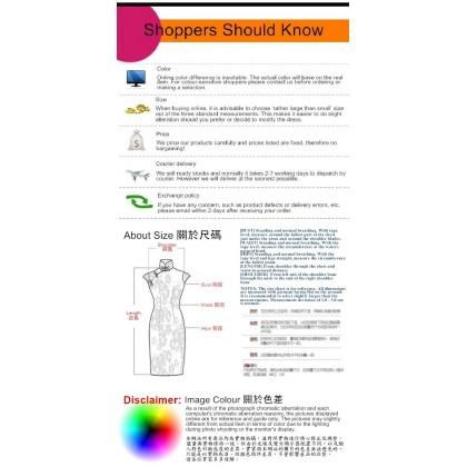 Round Neck Classic Linen Midi Qipao 1118-80 Best Value No Return / Exchange