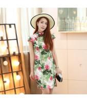 Peerless Elegance Cotton Qipao 2091-50 杭州絕代風華棉旗袍
