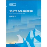 White Polar Bear Extra Pure Brightening Black Mask 25g