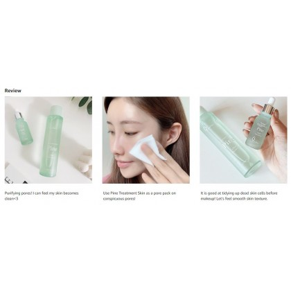 [9wishes] Pine (Toner) Treatment Skin 150ml Clear Recovery Of Pore