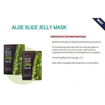 CURE Aloe Slice Jelly Mask 30ml x 10