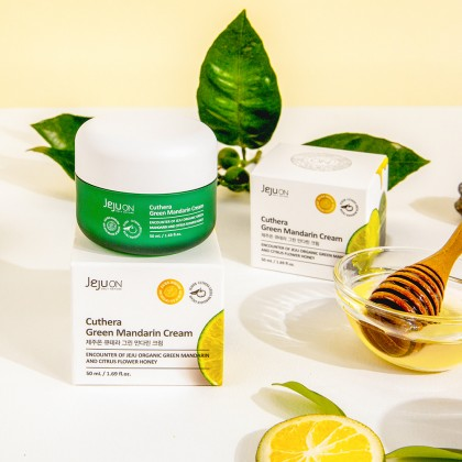 JEJUON Cuthera Green Mandarin Cream 50ml