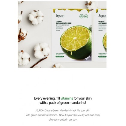 JEJUON Cuthera Green Mandarin Mask 23ml