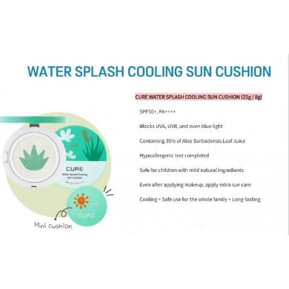 CURE Water Splash Cooling Sun Cushion 8g